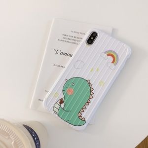White silicone shell style iPhone X cases